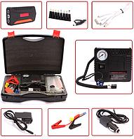 Набір пуско-зарядний пристрій універсальне 30000 маг. + міні компресор TM15A, фото 1