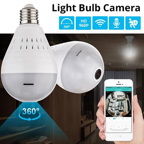 KERUI Wi-Fi CCTV Fisheye IP камера видеонаблюдения 360 градусов ночное видение 960P, фото 2