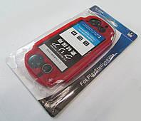 Защитный силиконовый чехол PS Vita красный