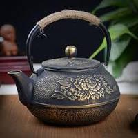 Чайник чугунный Пион 1200 мл ( заварочный чайник )