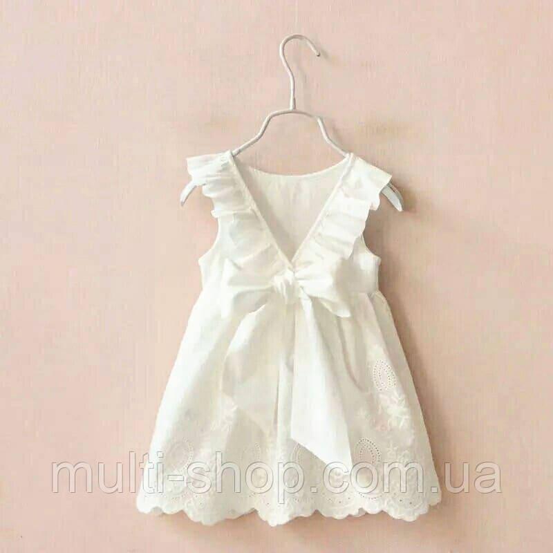 Платье для девочки Нежность WHITE