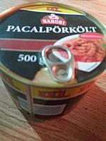 Мясная консерва - жаркое из свинины - 500г./Венгрия/