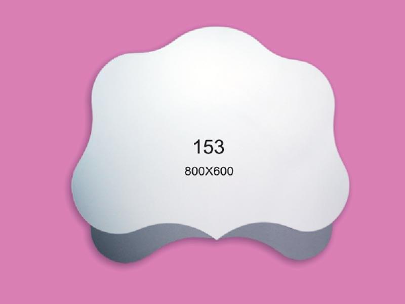 Зеркало для ванной комнаты 800х600 Ф153