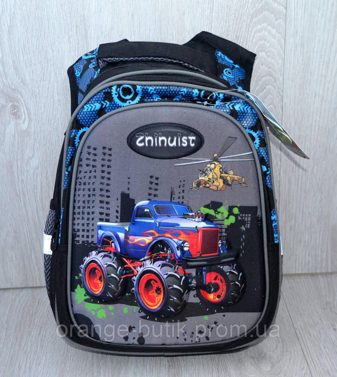 56a6e90b4845 Ортопедический школьный рюкзак для мальчиков с 3D машинкой: продажа ...