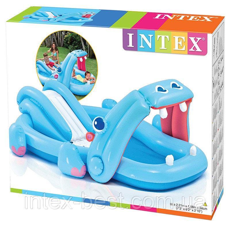 Игровой центр Intex 57150 Бегемот, фото 1