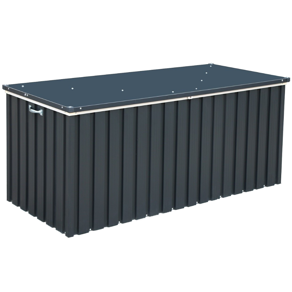 Скриня металевий 1.7 сірий з білим Duramax