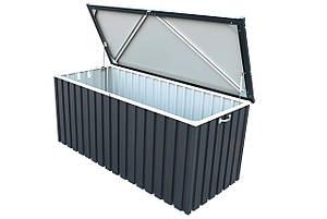 Скриня металевий 1.7 сірий з білим Duramax, фото 2