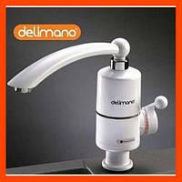 Электрический проточный водонагреватель на кран Delimano