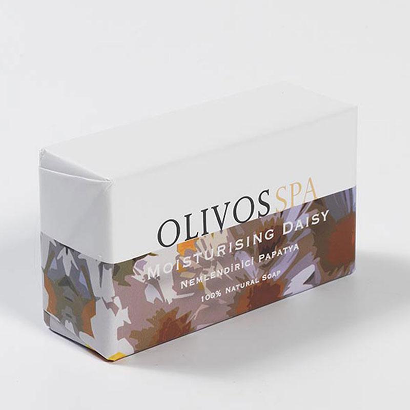 Оливковое натуральное мыло Olivos Spa Daisy /Ромашка/, 250г