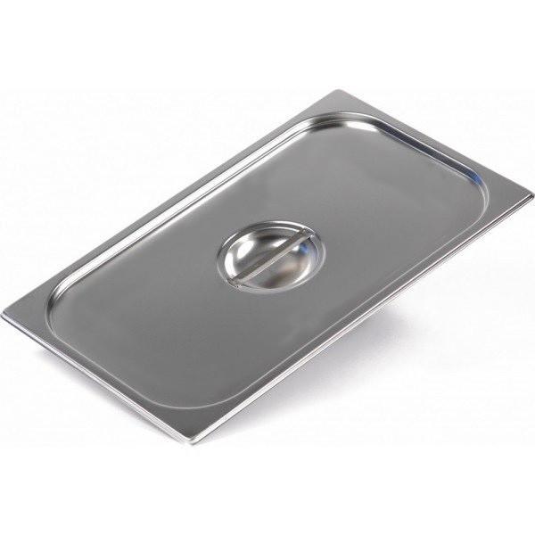Крышка для гастроемкости Helios из нержавеющей стали GD 1/1