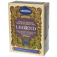 Смесь чёрного и зеленого чая Twistea Legend (со специями и травами) 100г