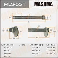 Болт эксцентрик  MASUMA к-т.    Toyota
