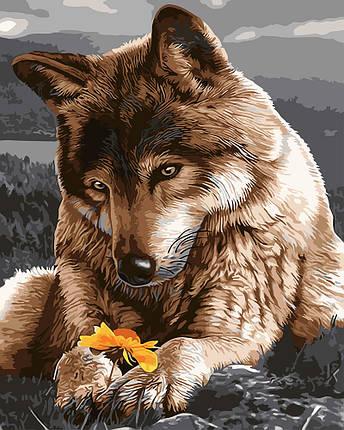 "Картина по номерам ""Волчица"", фото 2"