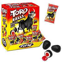 Жевательные конфеты (жвачки) без глютена Fini Toro Balls яйца быка Испания 200штх5г