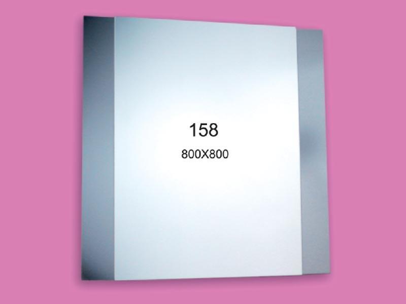 Зеркало для ванной комнаты 800х800 Ф158