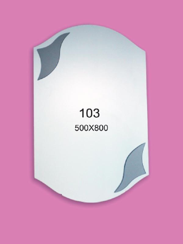 Зеркало для ванной комнаты 500х800 Ф103