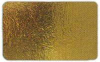 Подложка прямоугольная под торт 25*35 см золото/серебро