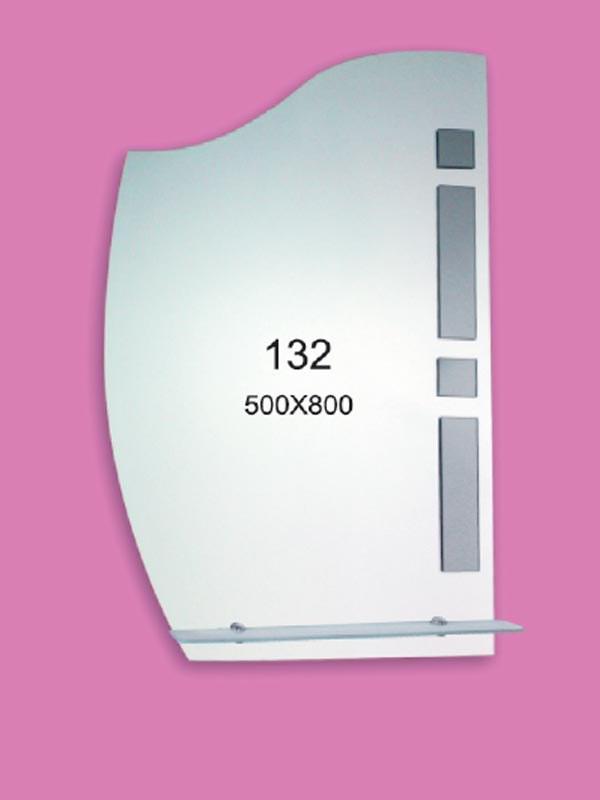 Зеркало для ванной комнаты 500х800 Ф132