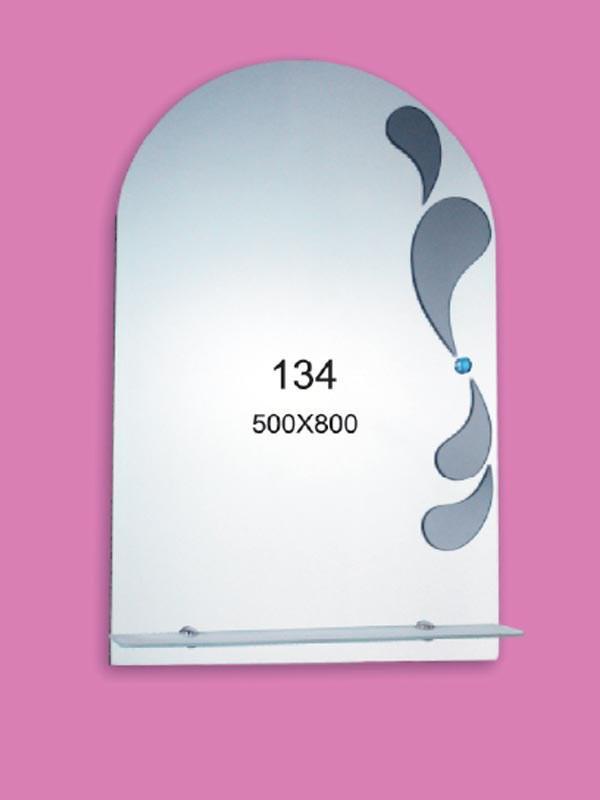 Зеркало для ванной комнаты 500х800 Ф134