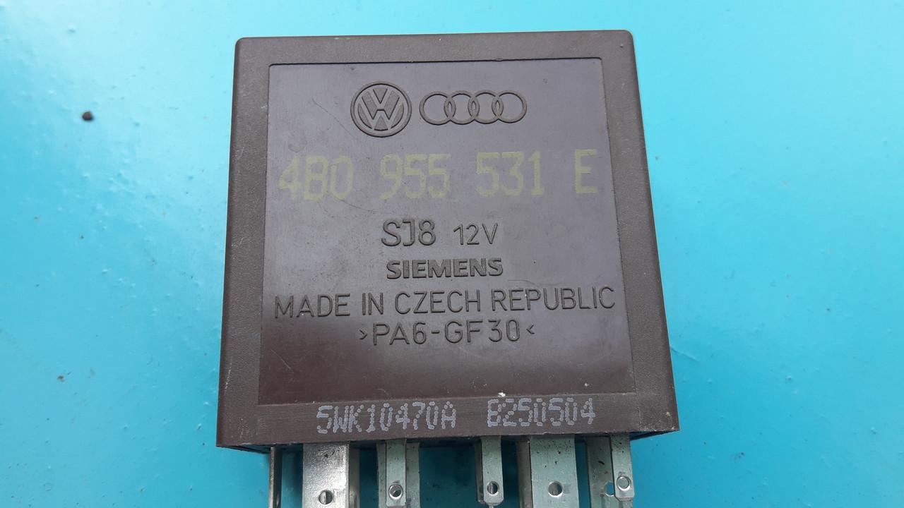Блок реле управления стеклоочистителя 603 ауди audi a4 b5 a6 c5 a8 d2 octavia superb golf passat b5 4b0955531E