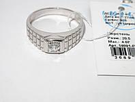 Мужское серебряное кольцо 14691-Р