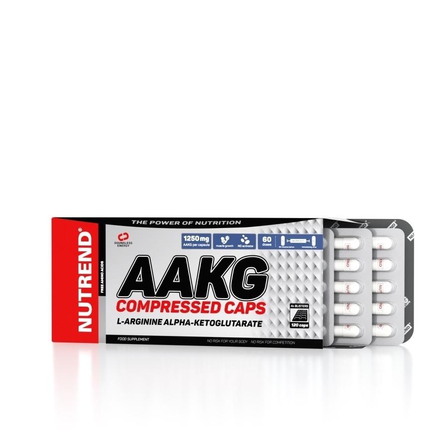 Аргинин Nutrend AAKG Compressed Caps 120 caps