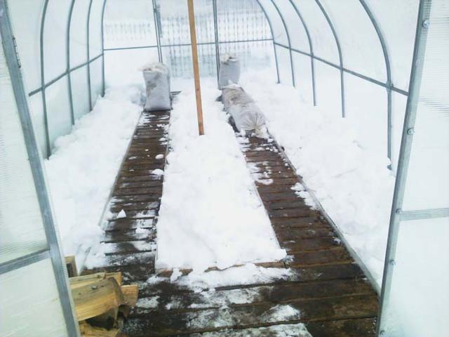 Снежное покрытие