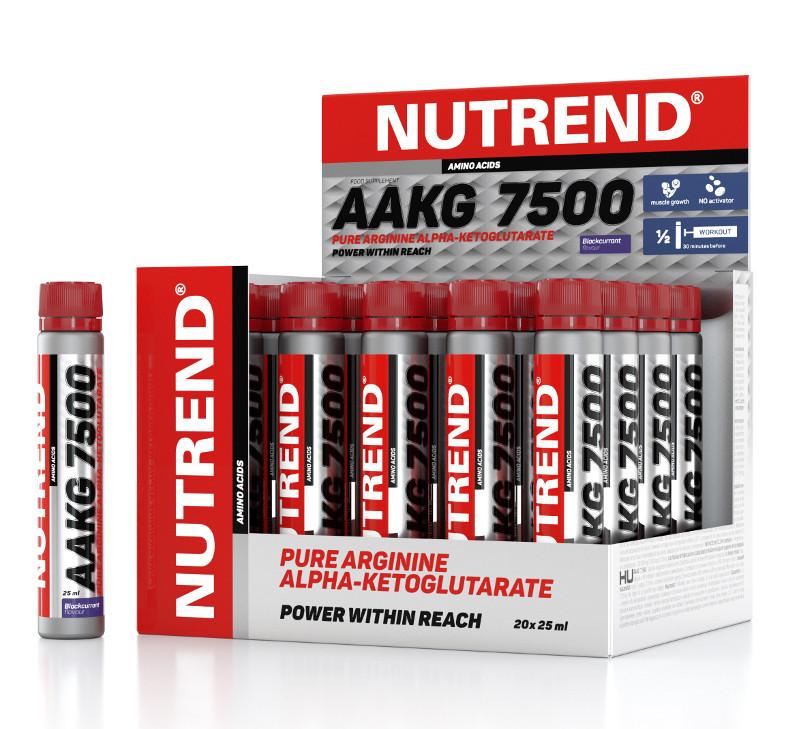 Аргинин Nutrend AAKG 7500 20х25 ml