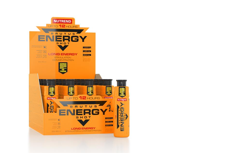 Nutrend  Brutus Energy Shot 20Х60 ml