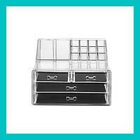 Акриловый органайзер для косметики Cosmetic Storage Box!Акция, фото 1
