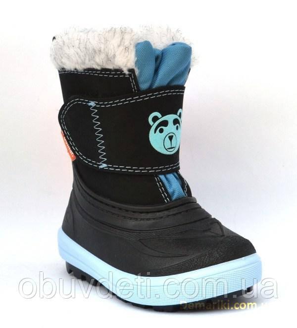Теплые зимние сапоги для детей Demar  24/25 - 16.5 см, фото 1