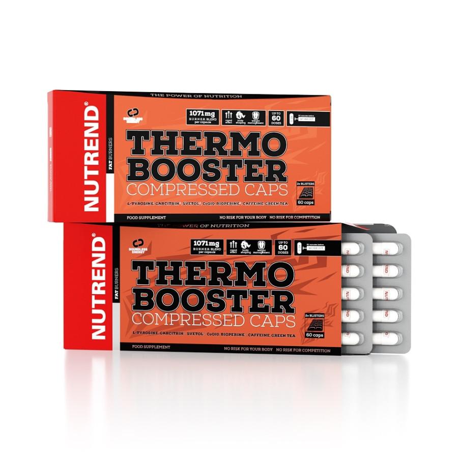Жиросжигатель Nutrend Thermobooster Compressed Caps 60 caps