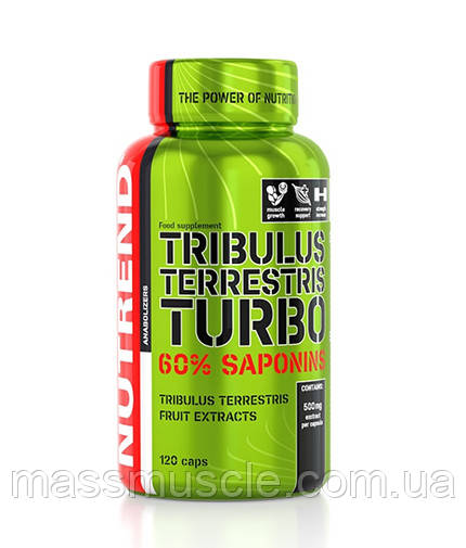 Тестостероновый бустер Nutrend Tribulus Terrestris turbo 120 caps