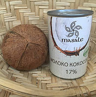 Кокосовое молоко органическое ТМ Масале 400мл Шри Ланка
