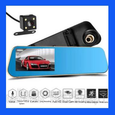 Видеорегистратор VEHICLE BLACKBOX DVRG66, Зеркало заднего вида - видеорегистратор в авто!Акция