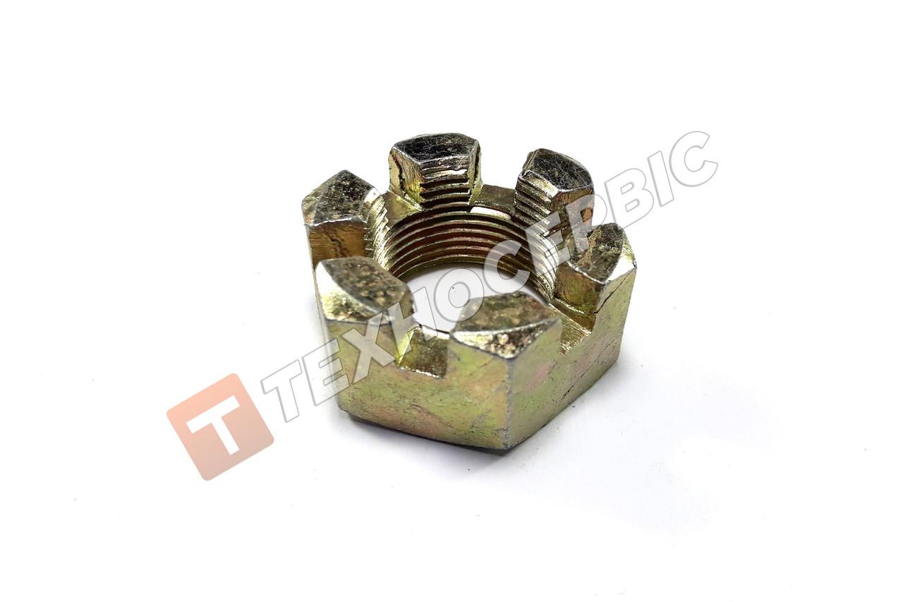 Гайка корончатая М24х2 пальца рулевого МАЗ (251035-П29)