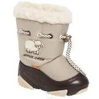 Детские сапоги дутики зимние Demar Little Lamb 24-25р - 15,8см;