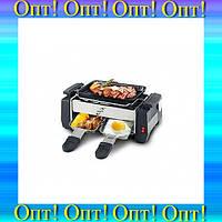 Электрический компактный гриль-барбекю (2 в 1) HuanYi, модель HY 9098!Опт
