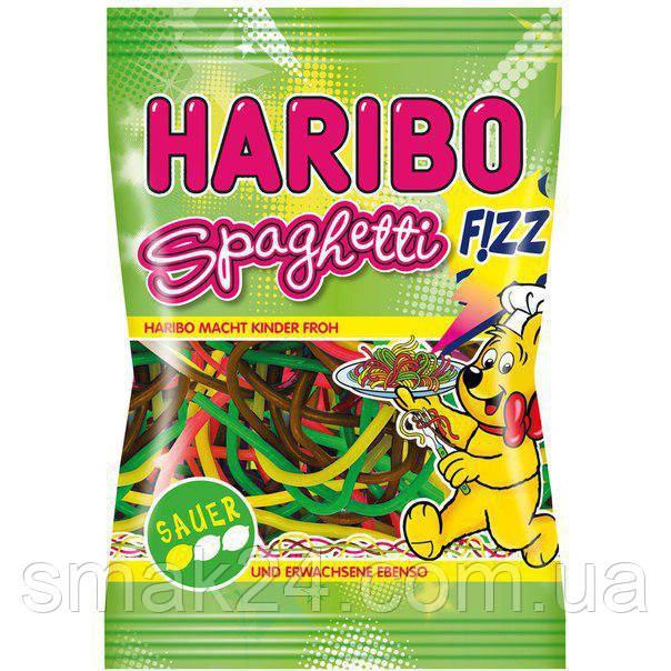 Желейные конфеты Haribo Spaghetti fizz  (спагетти кислые) Германия 200г