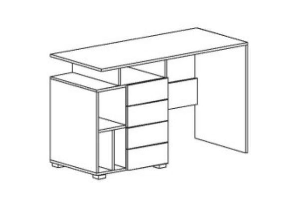 Стол письменный Axel M (схема)