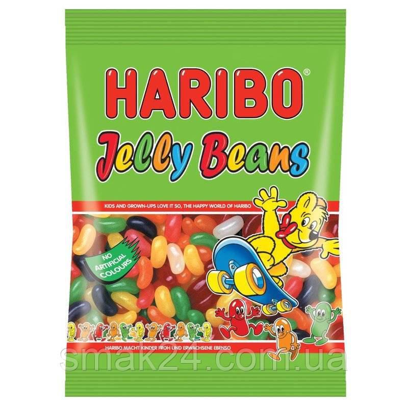 Желейные конфеты Haribo Jelly Beans  (фасольки) Германия 200г