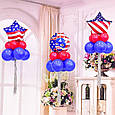 Фольгований повітряна куля зірка капітан америка 45 див., фото 2