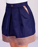 Стильная молодежная юбка оптом, фото 1