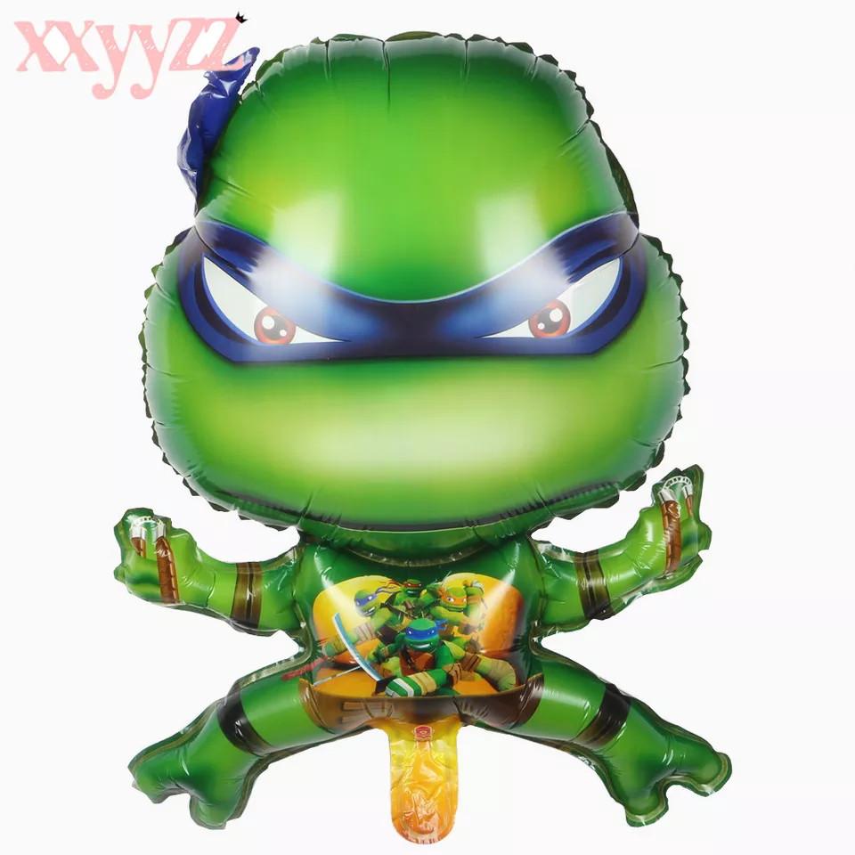 Фольгированный фигурный шар Черепашки - Ниндзя 49 × 65 см