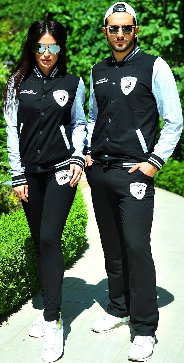 костюм lamborghini черный