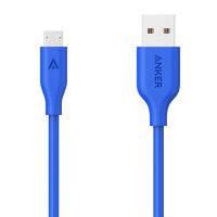 Кабель для смартфона anker a8132h31 синий powerline micro usb 90 см v3