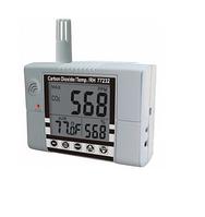 Стационарный газовый детектор/термогигрометр (СО2, RH, T) RS-232 AZ-77232