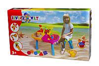Детский столик для песка kinderway kw-01-122