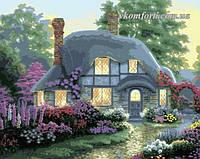 Картина по номерам MENGLEI Дом цветочной феи худ. Кинкейд Томас (MG300, MS336) 40 х 50 см, фото 1