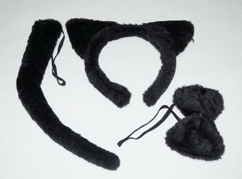 Набор кота. Черный